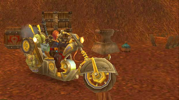 Mekgineer's Chopper in the Eastern Plaguelands